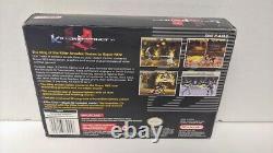 Killer Instinct Snes Super Nintendo Authentic Testé Jeu Complet Nouveau CD De Musique