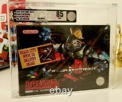 Killer Instinct Super Nintendo Snes Nouveau Sealed Graded Red Strip Silver 85 Vga