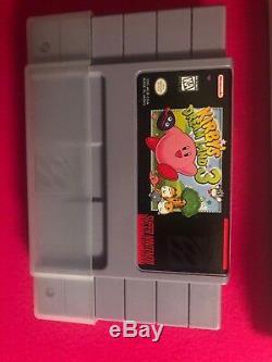 Kirby's Dream Land 3 Cib (système De Divertissement Super Nintendo, 1997)