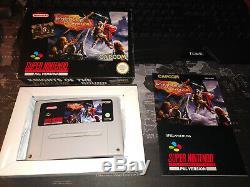 Knights Of The Round Super Nintendo Super Nintendo Pal Komplett Cib! Haut