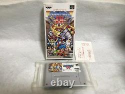 La Grande Bataille 4 IV Nintendo Super Famicom Snes Japon Authentiques Jeux Vidéo