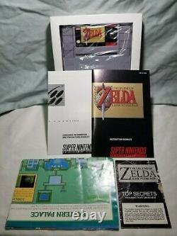 La Légende De Zelda Un Lien Vers Le Passé (super Nintendo, 1992) Boîte Snes Complete