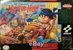 La Légende Du Mystical Ninja Snes (super Nintendo Entertainment System) Cib
