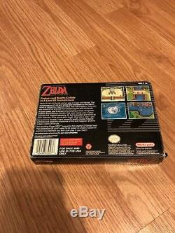 Legend Of Zelda Lien Vers Le Passé Super Nintendo Snes Cib CC