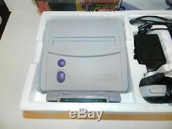 Legend Of Zelda Mini Super Nintendo Snes Console Système Complet Dans L'encadré Cib Mint