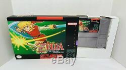 Legend Of Zelda Parallel Worlds Snes Super Nintendo Scellé Dans L'encadré Ntsc