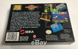 Legend Seika (snes Super Nintendo) Cib 100% Complet Presque Parfait État Rare