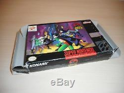Les Aventures De Batman & Robin Complète Snes Super Nintendo Cib Jeu