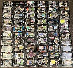 Lot De 60 Box Seulement Super Nintendo Snes Authentic Original America Release