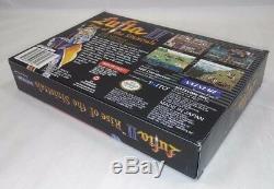 Lufia II 2 Rise Of Sinistrals (super Nintendo) Box Uniquement Snes Rare Rpg Authentic