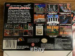 Maximum Carnage Super Nintendo Snes 1994 Orig Box! Manuel! Voir Les Photos! Spiderman
