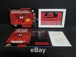 Maximum Carnage Super Nintendo Snes Edition Collector Big Box Nice