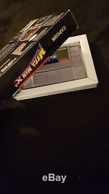 Mega Man X2 Snes Megaman Super Nintendo Capcom Non Cib Complete Box Non Manuel