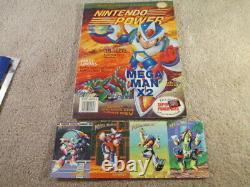 Mega Man X2 (super Nintendo Snes) Complet Cib Avec Magazine + Affiche + Cartes