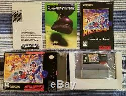 Mega Man X3 Snes État Super Nintendo Cib