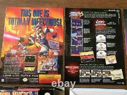 Mega Man X3 (super Nintendo Snes) Complet Cib Avec Annonces