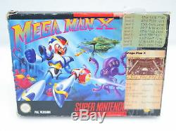 Mega Man X Nintendo Super Nintendo Snes Spiel En Ovp Pal