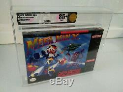 Mega Man X Super Nintendo Vga 85+ New Sealed Impeccable Capcom Snes Gem