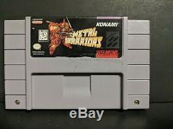 Metal Warriors (super Nintendo) Snes Complète Boxed Cib Fair Good Manuel Box