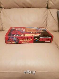 Metroid Zelda Snes Super Box Nintendo Big Box Rare
