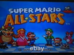 Mini Jr. Super Nintendo Système De Jeu Vidéo / Console, 2 Contrôleurs, 8 Jeux Snes