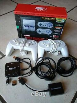 Modded Super Nintendo Snes Classic Mini Console Plus Games Extras Plus De 290
