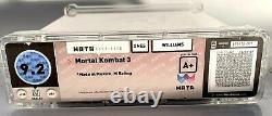 Mortal Kombat 3 Wata 9.2 A+ Usine Scellée // Super Nintendo Snes Scellé 1995