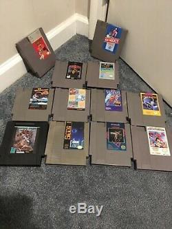 Nes Et Super Nintendo Entertainment System Snes Jeu Lot Untested Mais Nettoyé