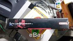 New Killer Instinct Sealed 1995 Super Nintendo Snes Version Originale Marque Nouveau
