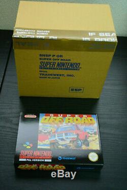 New Pal Version Super Off Road Nintendo Super Nintendo (espagne) Esp Snes