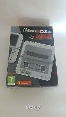 Nintendo 3ds XL Nouvelle Limited Edition Super Nintendo Snes Édition + Chargeur