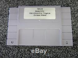 Nintendo M. A. C. S. Mac Fusil De Base Du Jeu De Tir De Précision Combat Simulator 1994