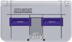 Nintendo New 3ds XL Snes Édition Super Nintendo Comprend Le Chargeur