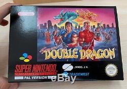 Nintendo Super Nintendo Snes Double Dragon Nouveau Pal Esp