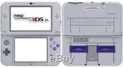 Nouveau Console Nintendo Xls Nintendo 3ds XL Super Nintendo Snes Edition, Mario Kart