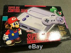 Nouveau Console Super Sint Slim Edition System Système De Divertissement Super Nintendo Gris