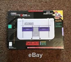 Nouveau Nintendo 3ds XL Snes Édition Super Nintendo USA Version Rare
