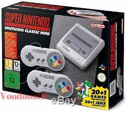 Nouveau Super Nintendo Entertainment System Console Nes Classics Minis Snes 2017