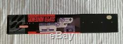 Nouveau Super Nintendo Entertainment System Snes Console Black Box 1ere Sortie