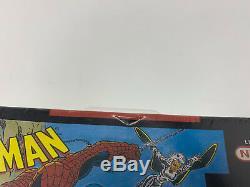 Nouveau Super Nintendo Snes Scellé A4 De Revers Spider-man X-men Arcade