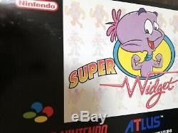 Nouveau Super Widget Snes Fah Français Super Nintendo Terminé Non Ouvert