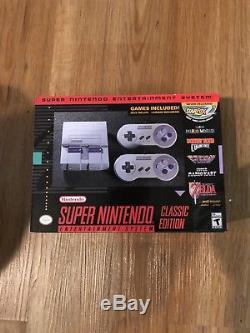 Nouveau Système De Divertissement Super Nintendo Snes Classic Mini Edition