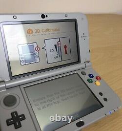 Nouvelle Console Grise Nintendo 3ds XL Snes Super Nintendo Edition Entièrement Testée
