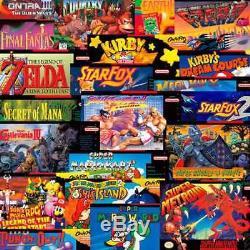 Nouvelle Console Super Nintendo Mini Snes 2017 Classic Edition Europe