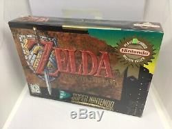 Nouvelle Marque Sealed The Legend Of Zelda Un Lien Vers Le Passé Pour Snes Super Nintendo
