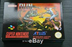 Nouvelle Version Pal Atlus Run Sabre Nintendo Super Nintendo (france) Fah Snes