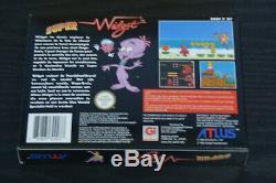 Nouvelle Version Pal Super Widget Nintendo Super Nintendo (france) Fah Snes