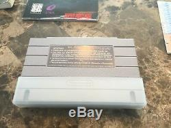 Ogre Battle Complete Jeu Rare Original Super Nintendo Snes Authentic Complete