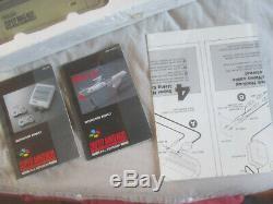 Packed Action Pack Scope 6 Ensemble Console Snes Super Nintendo Pal Avec Péritel