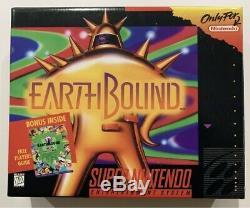 Par La Terre Super Nintendo Snes Cib Terminé En Boîte Ex-near Mint Scratch N Sniff